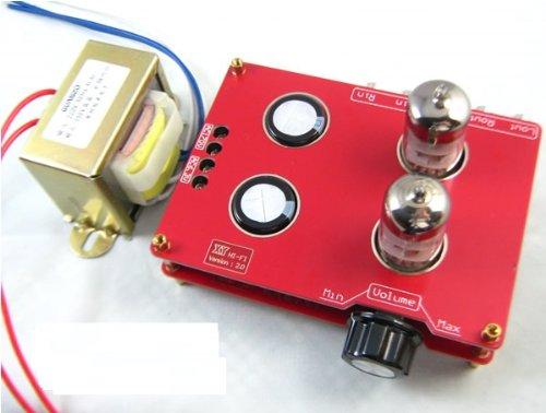 Riorand (Tm) Assembled 6N3 Hifi Buffer Audio Tube Headphone Amplifier Pre-Amp Kit With Transformer