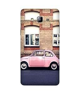 Pink Fiat Samsung Galaxy On5 Case