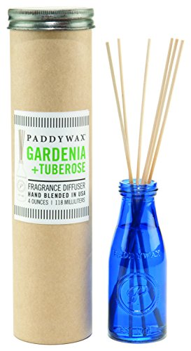 Paddywax Oil Diffuser Jar, Gardenia and Tuberose