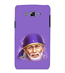 printtech Lord God Sainath Sai Baba Back Case Cover for Samsung Galaxy E5 / Samsung Galaxy E5 E500F