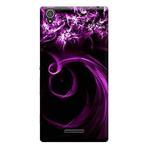 Ebby Premium Printed Mobile Back Case Cover With Full protection For Sony Xperia T3 (Designer Case)