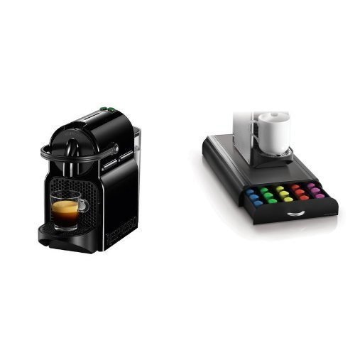 Nespresso Inissia Espresso Maker, Black and Mind Reader