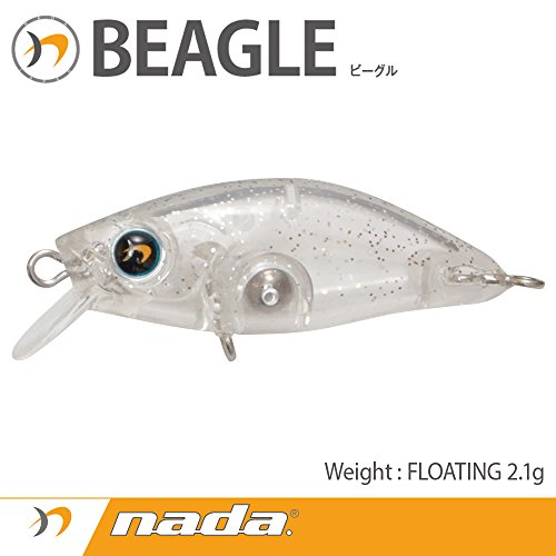 nada(ナダ) BEAGLE (F) クリアシルバーグリッター 33620の商品画像