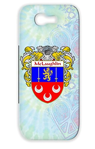 Red England Celtic Ireland Irish Surname Last Name Scotland Countries Flags Heritage Cities Family Crest Wales Coat Of Arms Mclaughlin Ancestry Shield Gaelic Mclaughlin Mantled Tear-Resistant Tpu For Sumsang Galaxy Note 2 Case Cover front-663573