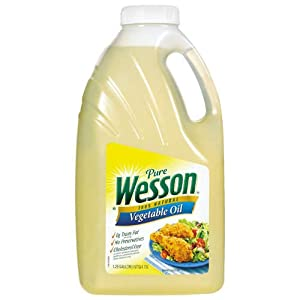Pure Wesson Vegetable Oil - 1.25 gal