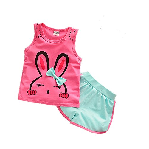 ftsucq-girls-sweet-cotton-tank-top-shirt-vest-with-shorts-two-pieces-setsrosered-90