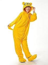 VU ROUL Adult Costumes Adventure Time Pajama Cosplay Onesies Kigurumi Jake the Dog