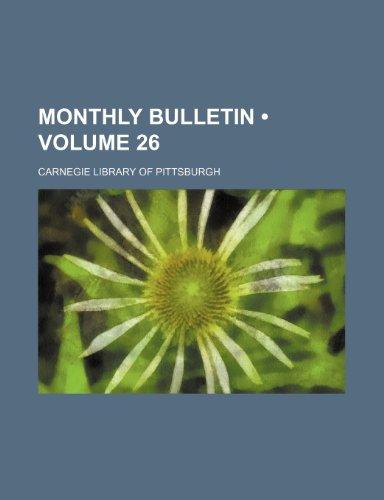 Monthly bulletin (Volume 26)