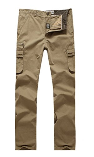 baishun-jeep-hombre-100-algodon-pantalones-cargo-turquesa-caqui-xxxl
