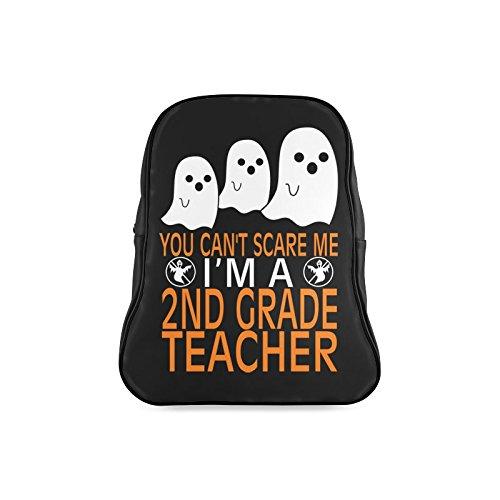 [Navarro Classic Halloween October 31 Jack O Lantern Children School High-grade PU Leather Backpack Bag Shoulder] (Lock Shock And Barrel Costumes For Kids)