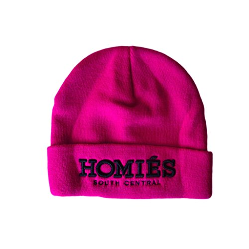 Brian Lichtenberg BLTEEKIDS Beanie for Kids (X-Small / Small, HOMIÈS SOUTH CENTRAL / Pink) (Homies South Central Beanie compare prices)
