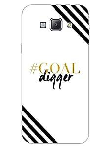Goal Digger - Designer Printed Hard Back Shell Case Cover for Samsung A8 Superior Matte Finish Samsung A8 Cover Case