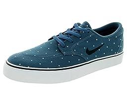Nike Kids Sb Clutch Prm (GS) Squadron Blue/Black/White Skate Shoe 6 Kids US