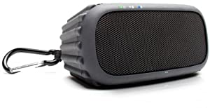 ECOXGEAR - ECOROX Rugged and Waterproof Wireless Bluetooth Speaker - Black