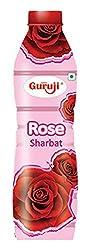 Guruji Rose Sharbat, 750ml