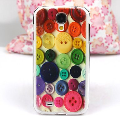 Hp Dfbeautiful Button Pattern Pc Back Case For Samsung S4/I9500