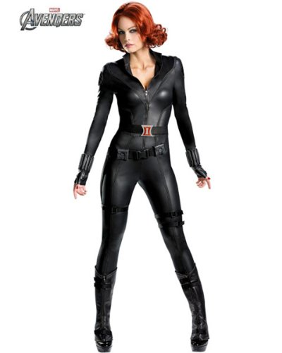 Disguise DI43702-S Womens Theatrical Quality Avengers Black Widow Costume SMALL