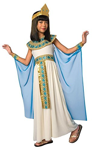 Girls - Cleopatra Child Lg Halloween Costume - Child Large