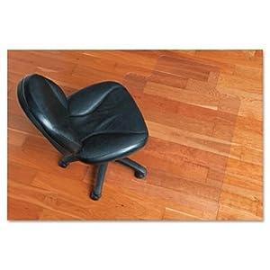 ES Robbins EcoKLEER Chairmat Carpet Chair Mats Office Prod
