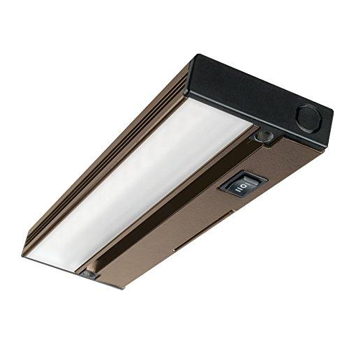 nicor lighting nuc 3 08 ob slim 8 dimmable led under. Black Bedroom Furniture Sets. Home Design Ideas