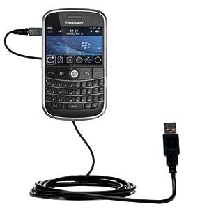 Un câble USB Charge/HotSync lisse pour le Blackberry Bold