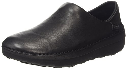 Fitflop Superloafer Tm Leather Scarpe Low-Top, colore nero (all black), taglia 37 EU (4 UK)