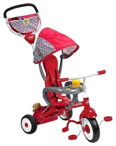 Radio-Flyer-EZ-Fold-Stroll-N-Trike-Ride-On-Red