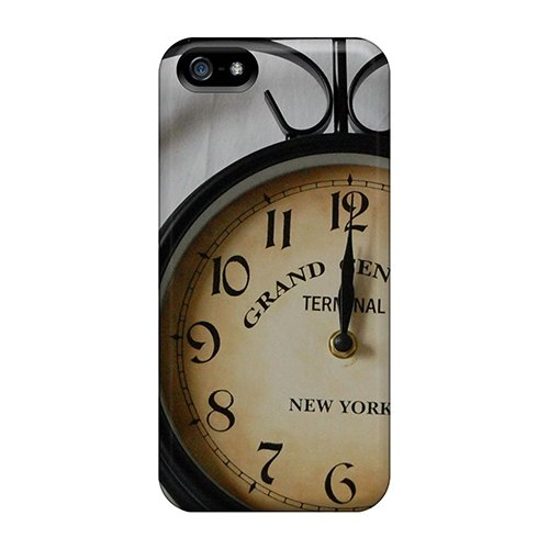 Forever Collectibles Clock Dial Numbers Hard Snap-On Iphone 5/5S Case front-781986