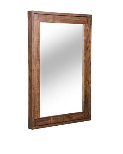 Zuo Oaktown Mirror, Natural Distressed