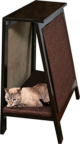 The-Refined-Felines-A-Frame-Cat-Bed-Scratcher