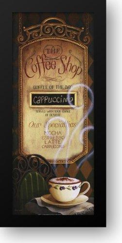 Coffee Shop Menu 12X24 Framed Art Print By Audit, Lisa
