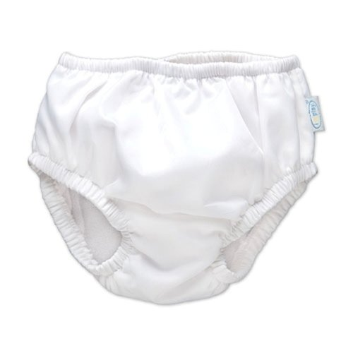 iPlay Swim Diaper - White, 12 Months