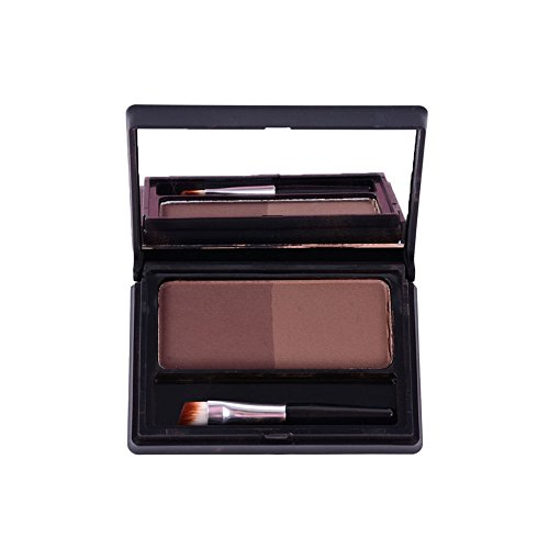 Etosell Sourcil Poudre Eye Brow Brosse Miroir Beaute Ccosmetique (A1)