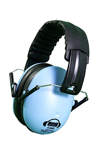Em's 4 Kids Hearing Protection Earmuffs Noise Protection (Blue)