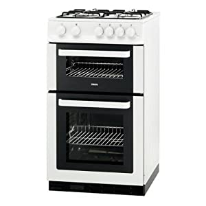 Zanussi Zcg561fw 50cm Wide Gas Cooker With Main Oven And