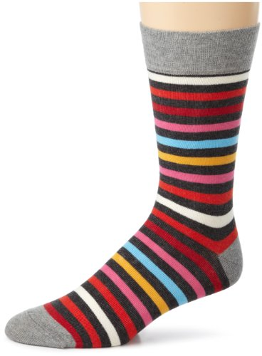 PACT Mens All Stripes Collection Socks