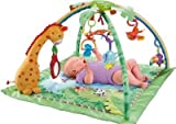Delightful Fisher-Price Rainforest Melodies and Lights Deluxe Baby Gym --