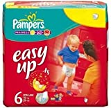 Pampers Easy Up Pants 19 Nappies Size 6