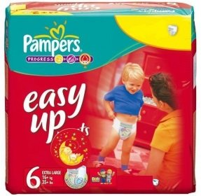 Pampers Easy Up Pants 19 Couches Taille 6