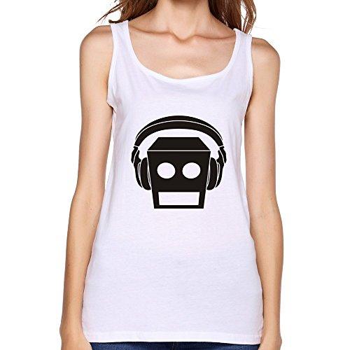 Belva LMFAO Beat Rock El Robot Logo Unique Women's Vest (Lmfao Robot compare prices)