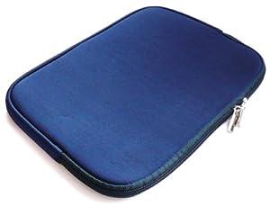 Emartbuy® Blue Water Resistant Neoprene Soft Zip Case/Cover suitable for Lenovo Yoga 10 Tablet ( 10-11 Inch eReader / Tablet / Netbook )