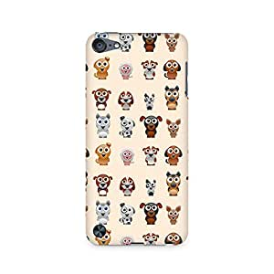 High Quality Printed Cover Case for Apple IPOD TOUCH 5 Model - Big Eyes Dog