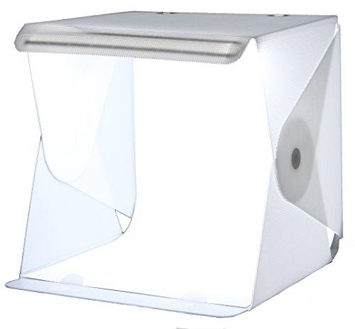foldio pliable 2original Tente photo professionnel lumière, lumière cube avec éclairage LED Stripe