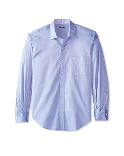 J. McLaughlin Men's Solid Gramercy Regular Fit Shirt