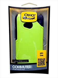 OtterBox 77-26431 Commuter Series Hybrid Case for HTC One - 1 Pack - Retail Packaging - Punked