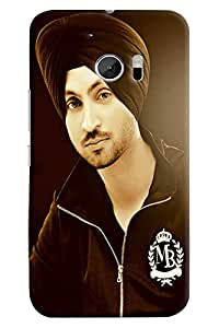 Omnam Diljit Dosangh Printed Back Cover Case For HTC 10