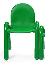 11 in. Angeles BaseLine Child Chair in Shamrock Green
