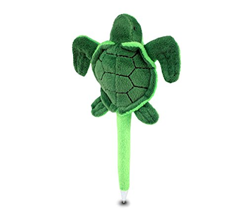 Puzzled Sea Turtle Plush Pen