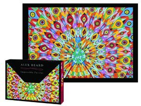 Cheap Great American Alex Beard PEACOCK Impossible Puzzle (B0039FTUTK)