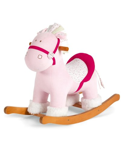 Baby Girl Rocking Horse back-621298